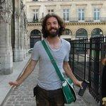 Paris walking tour with Chris Aug 2014