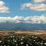 View of Mauna Kea Volcano  from Waikaloa