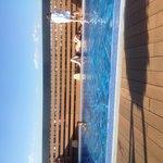 Zwembad op dakterras