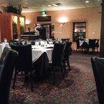 Part view of restaurant