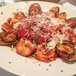 Sautéed shrimp, scallops, clams, calamari & mussels served with your choice of marinara sauce, s