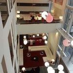 Salas del hotel y recepción