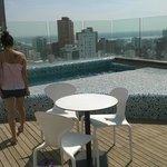 terraza/ piscina