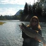 Silver Salmon on The Kenai