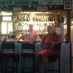 David and Susan in the bar