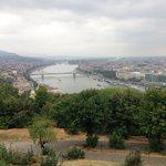 Cittadella overlooking the chain bridge and Danube River