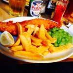 Decent plate of fish and chips