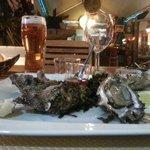 Les huîtres, un régale.