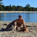 Noosa Dog Friendly Beach 10 mins drive from Kingfisher's