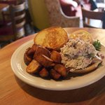 New Fall 2014! Chicken Salad Sandwich! made with local organic chicken!