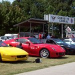 A very popular gathering spot for Corvette owners.