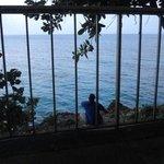 Bedroom Balcony view from Villa 5 Pinnacle