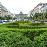 Vaclavske Namesti, view in front Ramada Prague City Centre