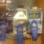 THREE blue ribbons for our Fancy, Medium Amber, and Dark Amber syrups!!