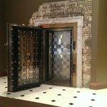 Vault Door in the Lobby