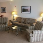 older but high quality comfortable furnishings