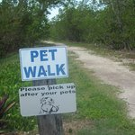 Pet Walk on Sigsbee near Navy Loddge