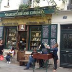 Paris - Shakespeare and Company Bookstore