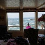 Private bedroom facing the ocean