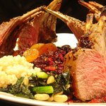 Roasted Rack of Lamb with Morocan Cous Cous