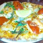 Tiger Prawn Pizza