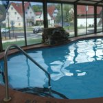 enclosed and seasonaly heated, enjoy a dip in our pool