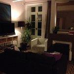 Sala comune accogliente come un salotto di casa.