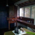 dining room area of villa