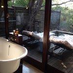 Bathroom and plunge pool