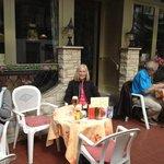 restaurant at Hotel Toscana, Interlaken.