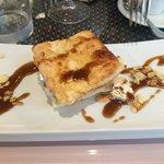 Nachspeise - Türkischer Honig glasiert mit Eis