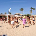 Zumba@ beach every Sunday from May to the end of September