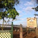 Cottage road entrance