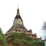 one of the many temples in Bagan