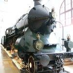 日本ではない形の蒸気機関車