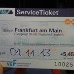 市内交通のチケット