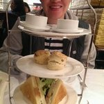 Afternoon tea: Chic with 1837 tea, scones and Royalty sandwich