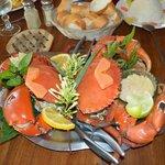Plat de crabe