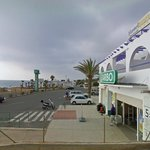 Google streetmap view of the correct location of Hotel Mojacar Playa