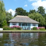 One of the many lovely houses on the Broads.