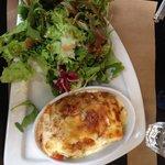 Les lasagnes légumes/chèvre