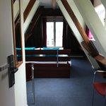 vista della camera dalla porta d'ingresso
