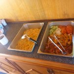 Breakfast on the boat, Bacon and Scrambled eggs