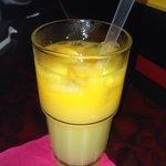 Ginger-Mango juice!��