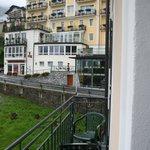 Från balkongen