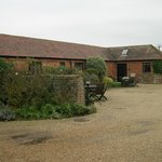 Canute cottages courtyard