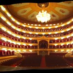 Bolshoi Theater. From the stage