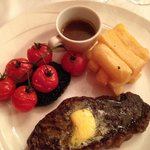 Steak and chips from the A La Carte
