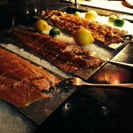 3 whole salmon to choose from