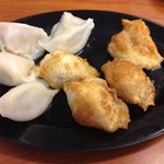 Fried dumplings (R) better than steamed ones.